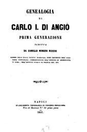 Genealogia di Carlo I. di Angiò