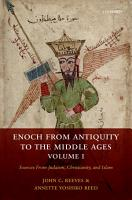 Enoch from Antiquity to the Middle Ages  Volume I PDF