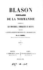 Blason populaire de la Normandie