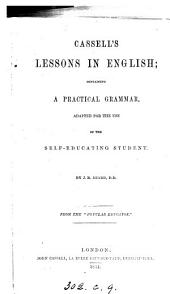 Cassell's lessons in English. From the 'Popular educator'.