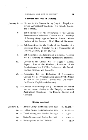 Bulletin of the Inter parliamentary Union