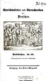 Sprichwörter und Spruchreden der Deutschen