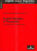 English Modality in Perspective PDF