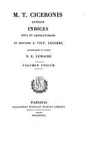 M.T. Ciceronis pars quarta sive epistolarum omnium: Volume 24