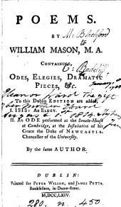 Poems by William Mason, M.A
