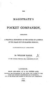 The Magistrate's Pocket Companion