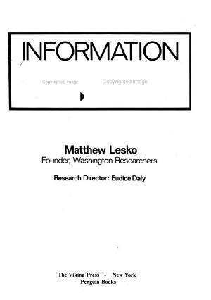 Information U S A  PDF