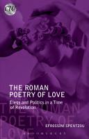 The Roman Poetry of Love PDF