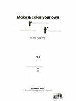 Make & Color your own Christmas Decorations