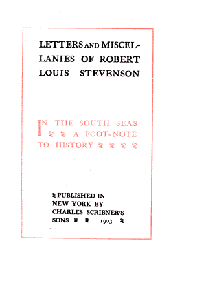 In the South Seas  A foot note to history PDF