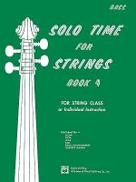 Solo Time for Strings  String Bass  Book 4 PDF