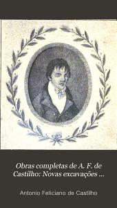 Obras completas de A. F. de Castilho: Novas excavações poeticas