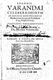 Ioannis Varandæi ... Tractatus therapeuticus primus De morbis ventriculi. Nunc primum in lucem editus, opera Romani a Costa, De Briva iucunda doct. medic