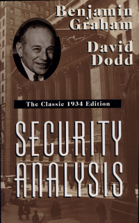 Security Analysis  The Classic 1934 Edition