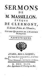 Sermons: Panégyriques, Volume5