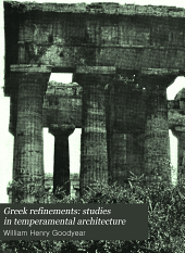 Greek Refinements: Studies in Temperamental Architecture