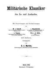 Erzherzog Karl: ausgewählte militärische Schriften