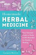 Homemade Herbal Medicine