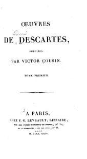 OEuvres de Descartes, publiées