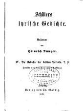 Erläuterungen zu Schillers Werken: Band 3