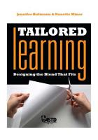 Tailored Learning PDF