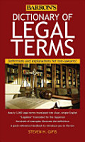 Dictionary of Legal Terms PDF