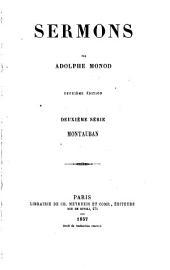 Sermons: série. Montauban. 1857
