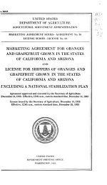 Marketing Agreement Series--Agreement
