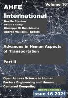 Advances in Human Aspects of Transportation  Part II PDF