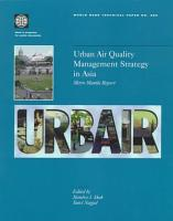 Urban Air Quality Management Strategy in Asia PDF