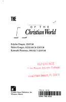 The Almanac of the Christian World PDF