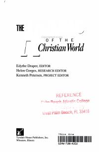 The Almanac of the Christian World PDF