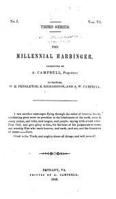 The Millennial Harbinger: Volume 3; Volume 6