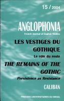 Les Vestiges Du Gothique PDF