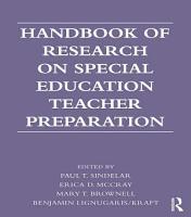 Handbook of Research on Special Education Teacher Preparation PDF