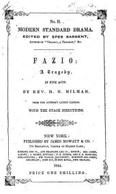 Fazio, Or The Italian Wife: A Tragedy in Five Acts