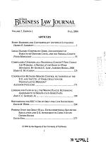 UC Davis Business Law Journal PDF
