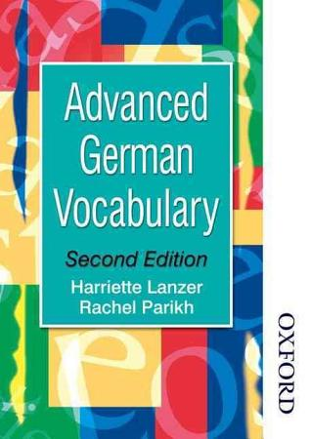 Advanced German vocabulary PDF