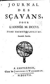 Journal des Savants: Volume34,Partie2
