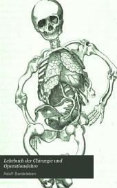 Lehrbuch der Chirurgie und Operationslehre: mit freier Benutzung von Vidal's Traité de pathologie externe et de médecine opératoire, besonders für das Bedurfniss der Studierenden, Band 1