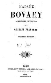 Madame Bovary: moeurs de province, Volume4