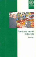 Food and Health in Europe PDF