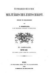 Österreichische militärische Zeitschrift: Bände 3-4