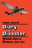 Diary of a Disaster PDF