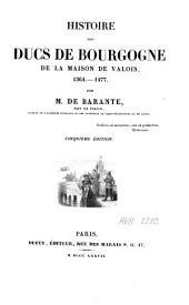 Histoire des ducs de Bourgogne de la maison de Valois, 1364-1477: Volume4