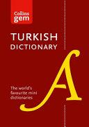 Turkish Dictionary PDF