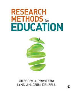 Research Methods for Education Book