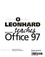 Woody Leonhard Teaches Microsoft Office 97 PDF