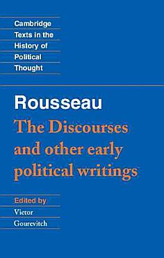 Rousseau   The Discourses  and Other Early Political Writings PDF
