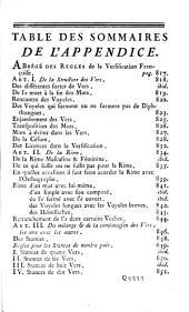 Traité de l'orthographe françoise, en forme de dictionaire: enrichi de notes critiques et de remarques sur l'étymologie & la prononciation des mots, le genre des noms, la conjugaison des verbes irréguliers